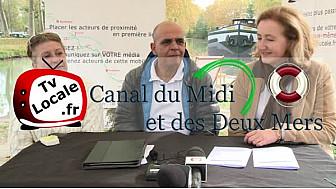 Kader ARIF Député du Lauragais en #HauteGaronne travaille pour l'Avenir du Canal du Midi  #TvLocale_fr @kaderarif